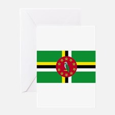 Dominica Greeting Card