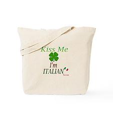 Kiss me, I'm Italian Tote Bag