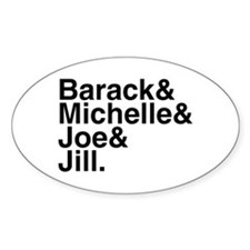 White House Roll Call Oval Decal