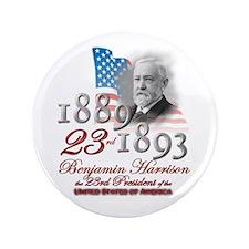 "23rd President - 3.5"" Button"