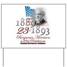 23rd President - Yard Sign