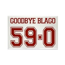 Goodbye Blago 59-0 Rectangle Magnet