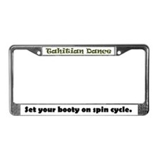 TD Spin Cycle License Plate Frame