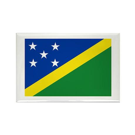 Solomon Islands Rectangle Magnet