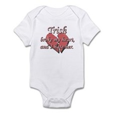 Trish broke my heart and I hate her Infant Bodysui