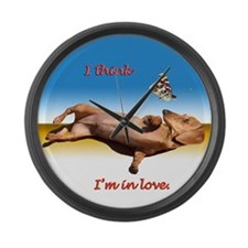 Forever Love Large Wall Clock