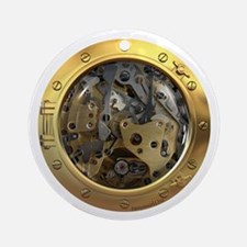 Gears Porthole Ornament (Round)