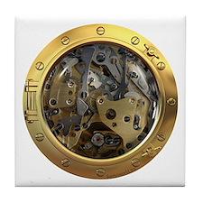 Gears Porthole Tile Coaster