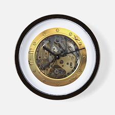 Gears Porthole Wall Clock