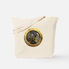 Gears Porthole Tote Bag