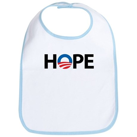 Obama Symbol of Hope Bib