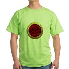 Rose Porthole Green T-Shirt