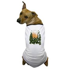 Beer N Shamrocks Dog T-Shirt