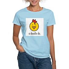a doodle doo white T-Shirt