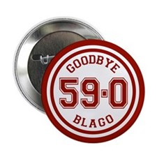 "Goodbye Blago Circle 2.25"" Button (100 pack)"