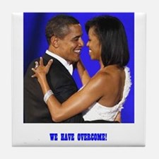 President Obama/Michelle Tile Coaster