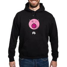 pig black Hoodie