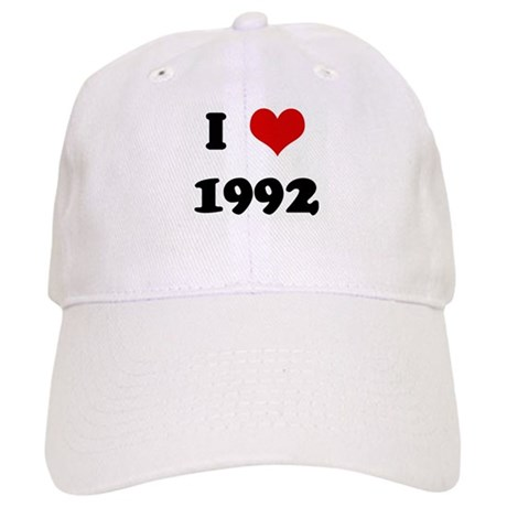 I Love 1992 Cap