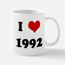 I Love 1992 Mug