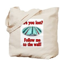 Follow me to the wall Tote Bag