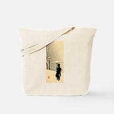 Funny Japanese woodblock Tote Bag