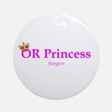 OR Princess MD Ornament (Round)