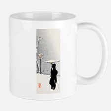 Unique Woodblock Mug