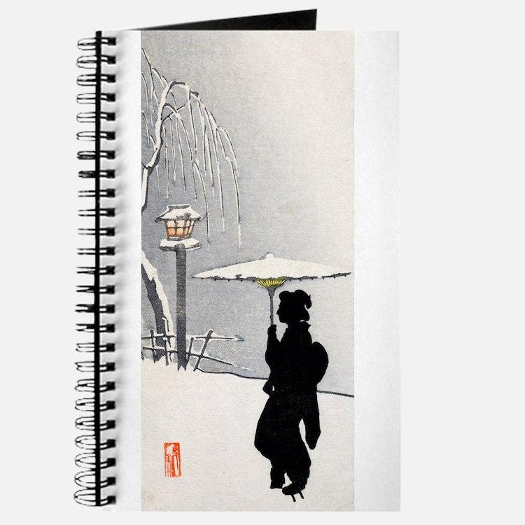 Cute Snowscape Journal
