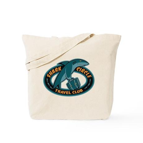 Shark Circle Travel Club Tote Bag