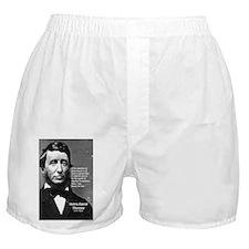 Philosophy / Nature: Thoreau Boxer Shorts