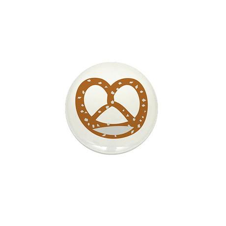 Bakery Pretzel Mini Button (10 pack)