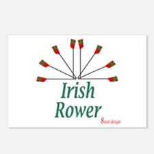Irish Rower Postcards (Package of 8)