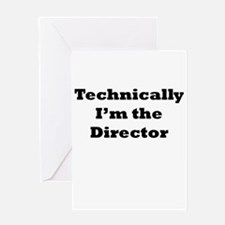 Technical Director Greeting Card