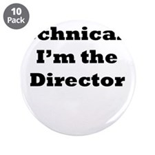 "Technical Director 3.5"" Button (10 pack)"