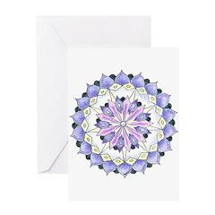 Grace Mandala Greeting Card