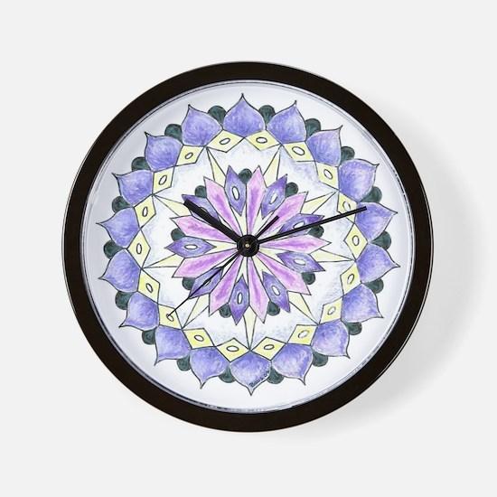Grace Mandala Wall Clock