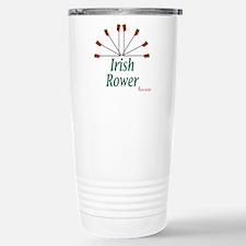 Irish Rower Boathouse Stainless Steel Travel Mug