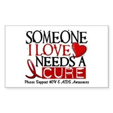 Needs A Cure HIV AIDS T-Shirts & Gifts Decal