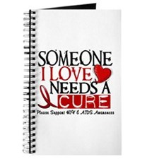 Needs A Cure HIV AIDS T-Shirts & Gifts Journal