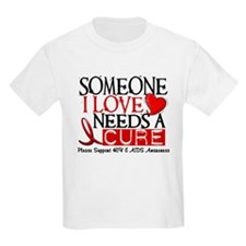 Needs A Cure HIV AIDS T-Shirts & Gifts T-Shirt
