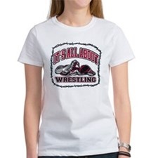 It's All About Wrestling Tee