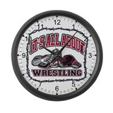 Wrestlers Giant Clocks
