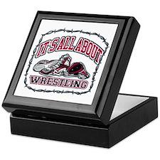 It's All About Wrestling Keepsake Box