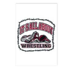 It's All About Wrestling Postcards (Package of 8)
