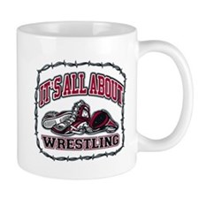 It's All About Wrestling Mug