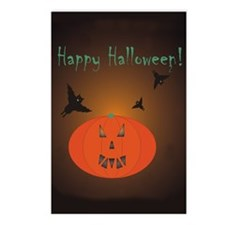 Halloween Postcards (Package of 8)