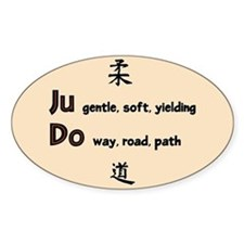 Judo Decal