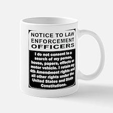 Notice Mug