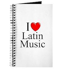 """I Love (Heart) Latin Music"" Journal"