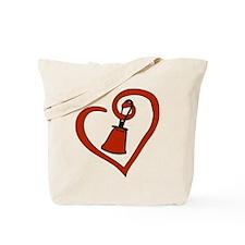 Heartfelt Bell Tote Bag